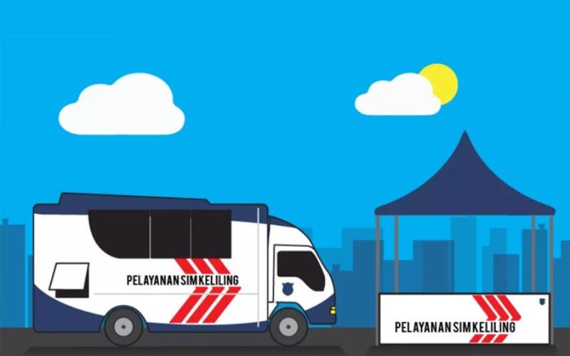 LayananSIM keliling - TMC Polda Metro Jaya