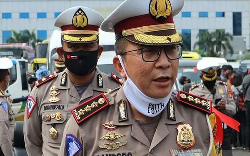 Direktur Lalu Lintas Polda Metro Jaya, Kombes Pol Sambodo Purnomo Yogo. - Antara