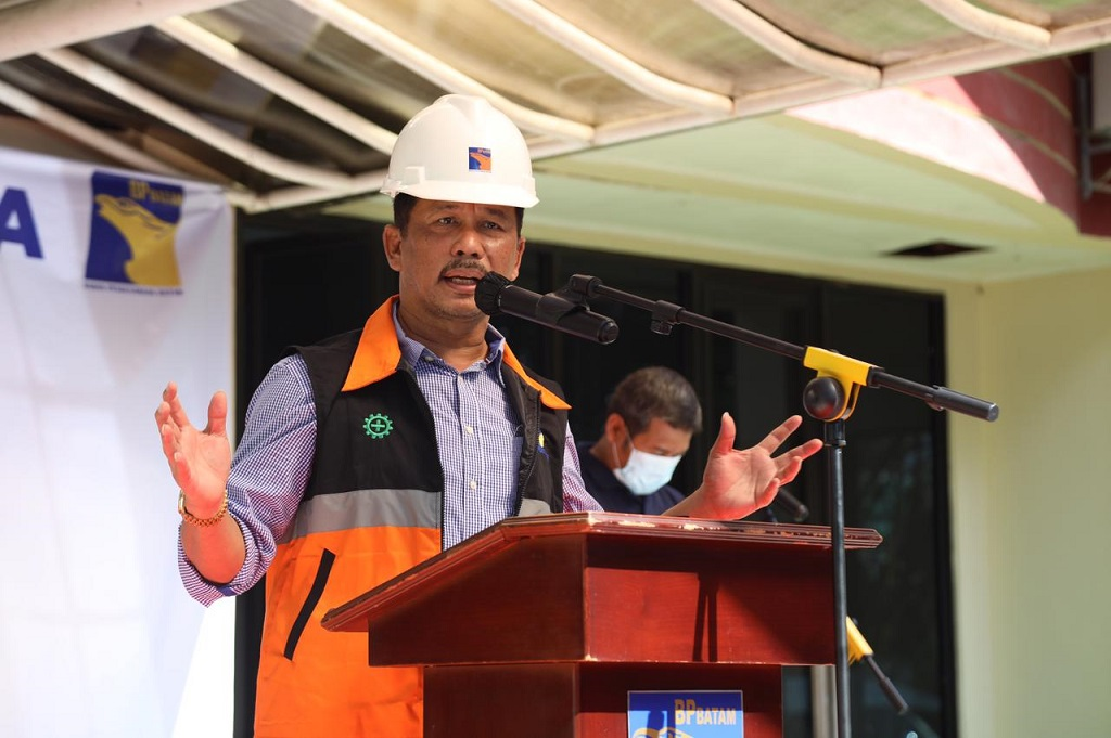 Foto: Muhammad Rudi, Walikota sekaligus sebagai Kepala BP Batam