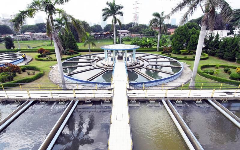 PT PAM Lyonnaise Jaya ( Palyja), operator penyediaan dan pelayanan air bersih untuk wilayah barat DKI Jakarta, mengumumkan pasokan air terganggu pada Jumat (7/8/2020). - Istimewa