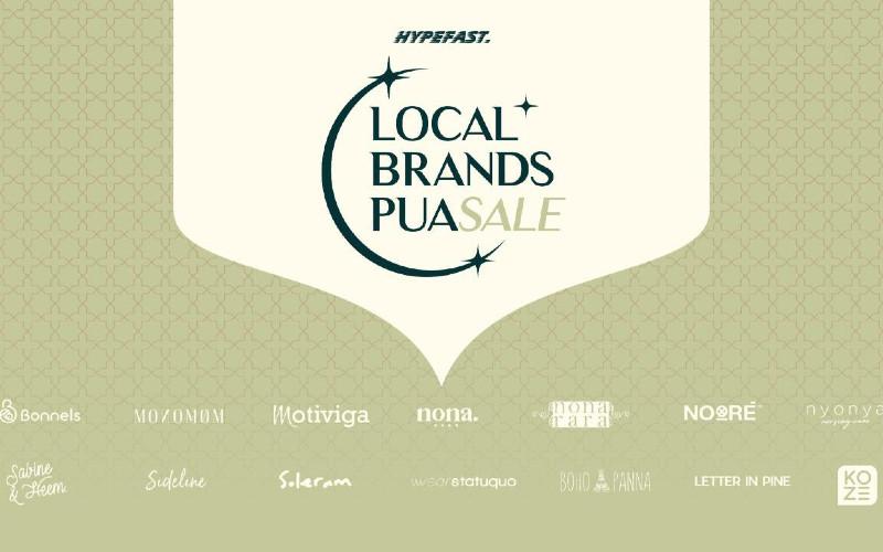 Local Brands Puasale akan berlangsung mulai 23 April 2021 dan puncaknya pada 5 Mei 2021.  - Hypefast
