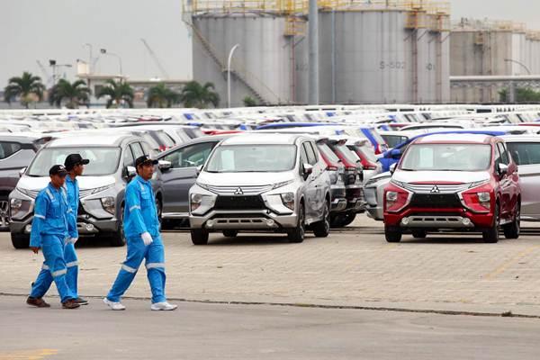 Ilustrasi - Suasana IPC Car Terminal, Cilincing, Jakarta, Rabu (25/4/2018). - JIBI/Abdullah Azzam