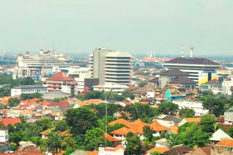 Lanskap Kota Semarang.