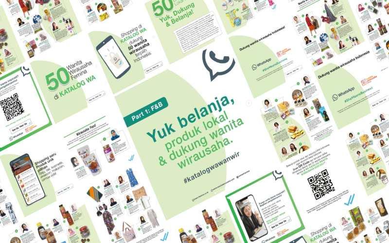 Kampanye SeeUsHear,Femina & WhatsApp untuk Wirausaha Wanita Indonesia. - Istimewa