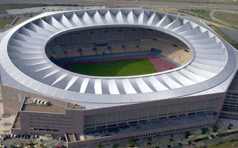Stadion La Cartuja di Sevilla. - estadiodeespana.com