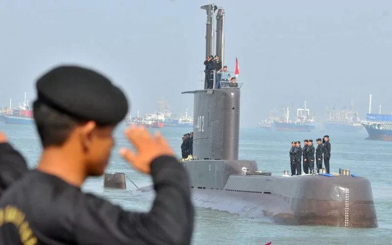 Kapal selam KRI Nanggala 402 - Antara
