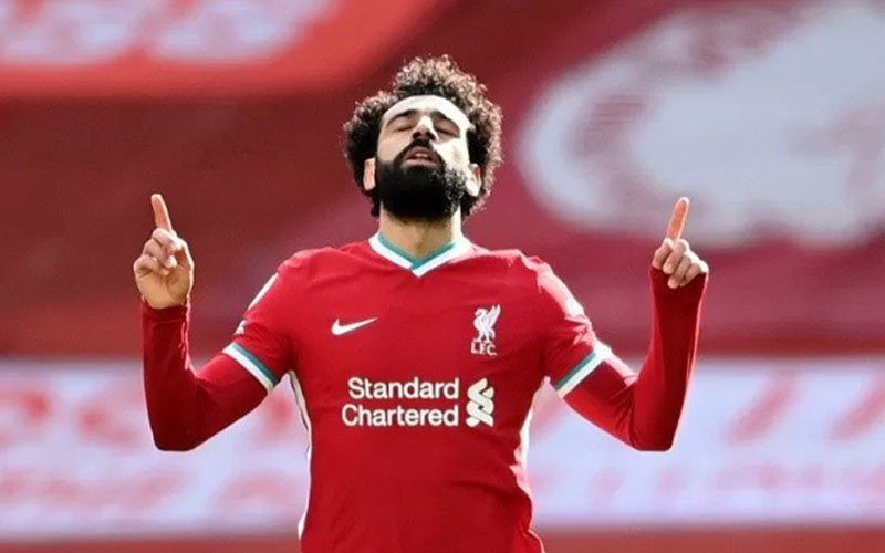 Striker Liverpool Mohamed Salah/Antara - Reuters