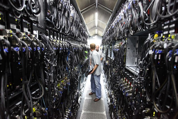 Ilustrasi data center - Flickr