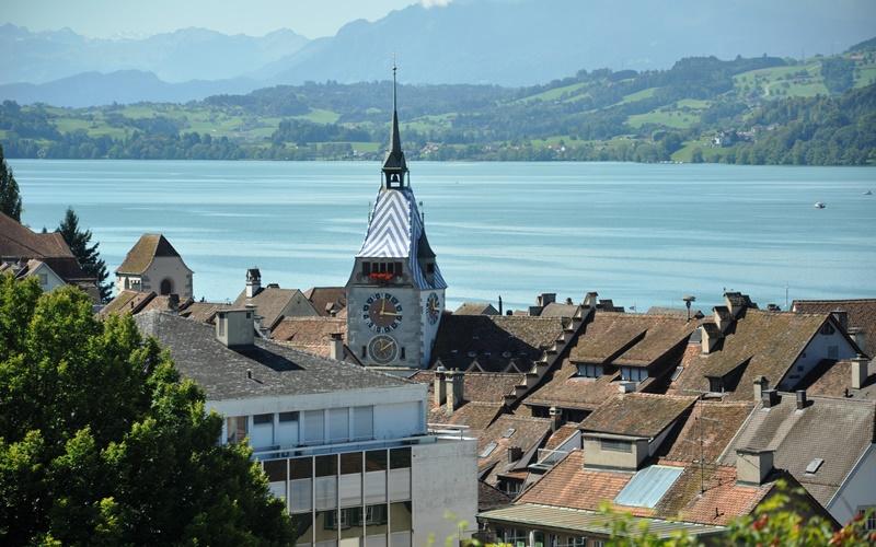 Kota Zug, Swiss