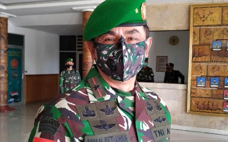 Danrem 173/PVB Brigjen TNI Iwan Setiawan - Antara/Evarukdijati