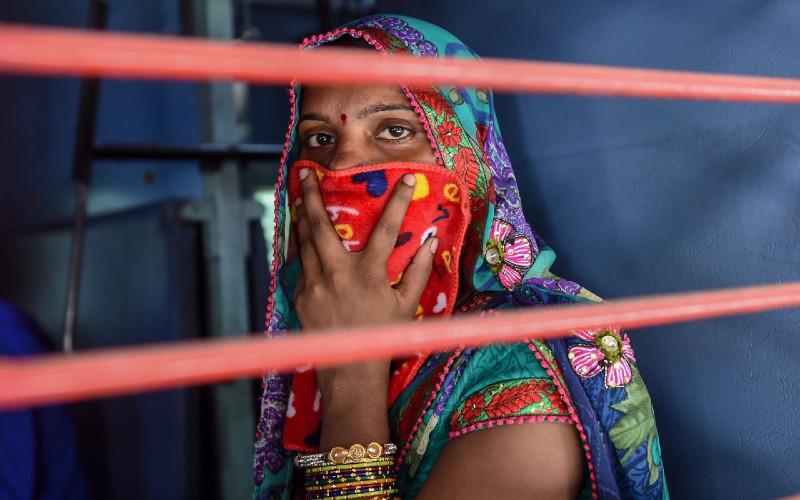 India diguncang gelombang kedua pandemi Covid-19.  - Bloomberg