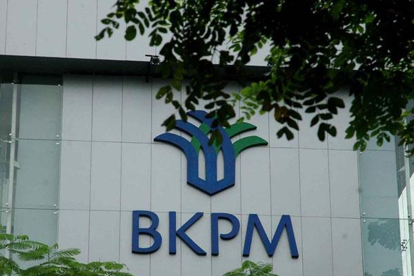 Logo BKPM di kantor pusat Jakarta  - Bisnis