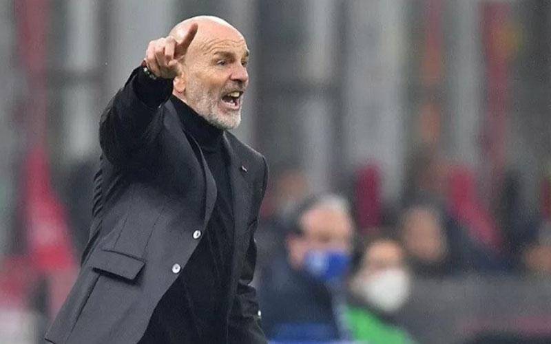 Pelatih AC Milan Stefano Pioli/Antara - Reuters
