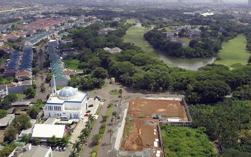 Kota Modern di Tangerang, Banten. - Istimewa