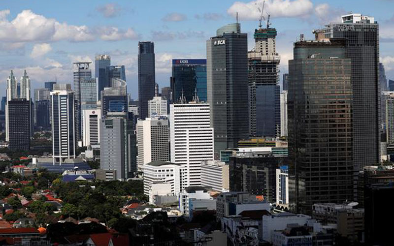 Ilustrasi wajah properti Jakarta, foto file 2 Mei 2019. - Reuters