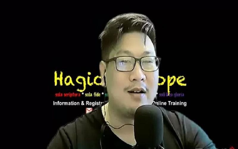 Shindy Paul Soerjomoeljono atau yang dikenal Joseph Paul Zhang di channel YouTube-nya. - Antara\r\n