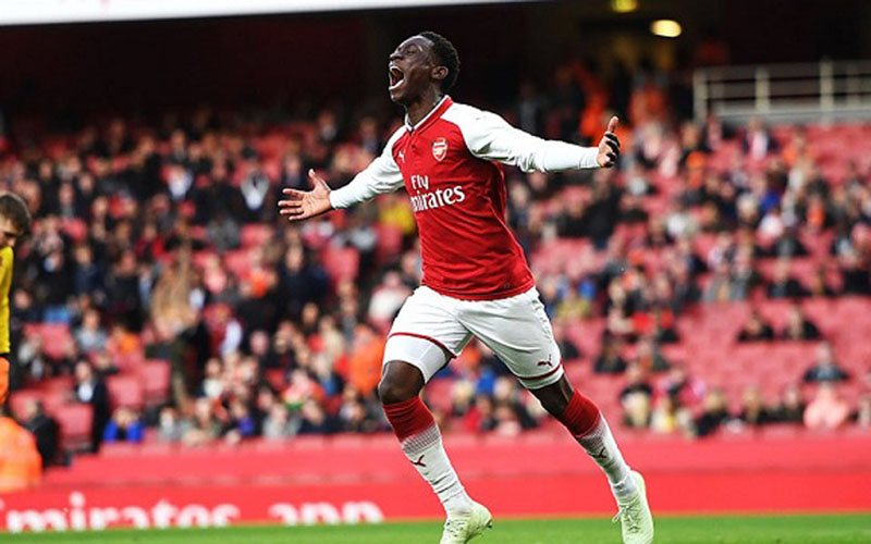 Striker Arsenal Folarin Balogun - Just Arsenal