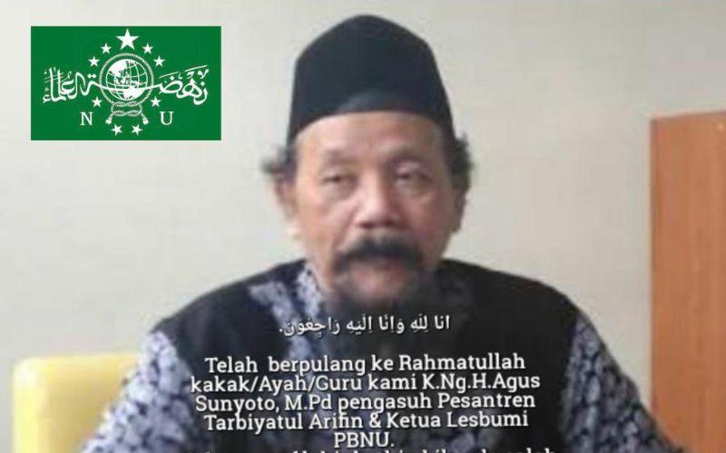Ketua Lembaga Seniman dan Budayawan Muslimin Indonesia (Lesbumi) PBNU KH Agus Sunyoto / Twitter