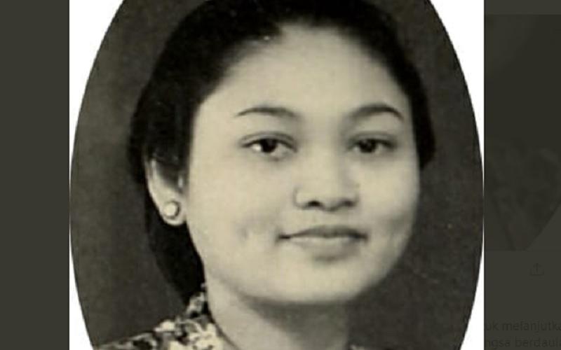 Ibu Tien Soehato. - Twitter @TututSoeharto49