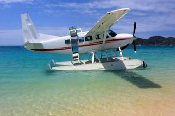 Seaplane - ilustrasi