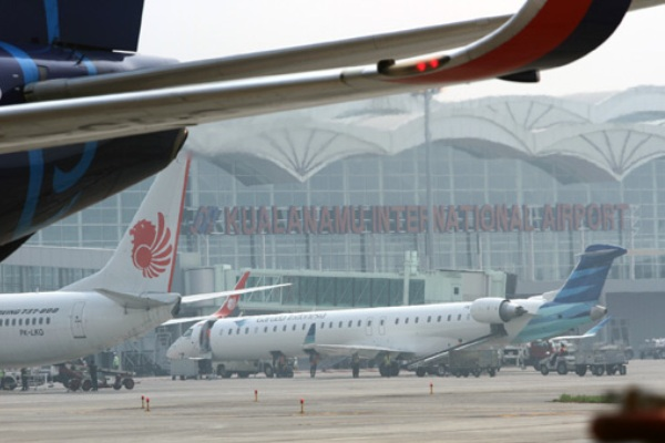 Bandara Kualanamu - Antara/Irsan Mulyadi