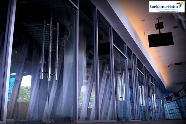 Ilustrasi - Pembangunan proyek kawasan transit terpadu atau transit oriented development (TOD) di Pintu M1 Bandara Soekarno-Hatta, Kota Tangerang. - Istimewa