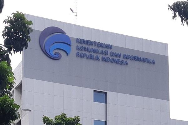 Kantor Kementerian Komunikasi dan Informatika RI di Jakarta. -Bisnis.com - Samdysara Saragih