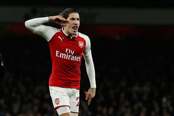 Bek Arsenal Hector Bellerin - Reuters/John Sibley
