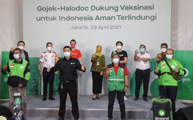 Gojek Gelar Vaksinasi Terbesar Khusus Untuk Para Mitra Driver!