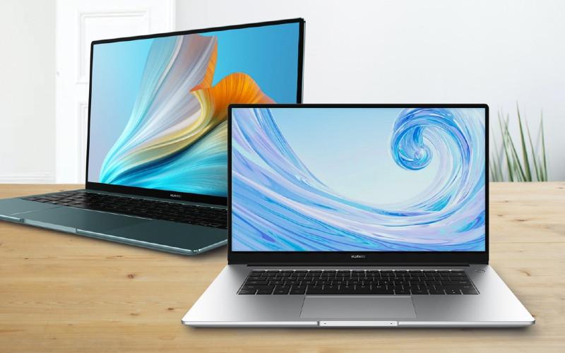 Huawei Matebook X Pro, dan Huawei Matebook D15 edisi Intel.  - Huawei
