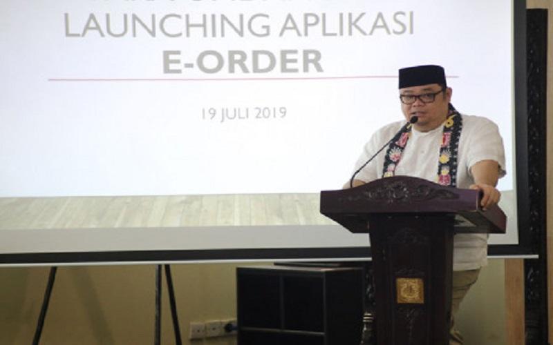 Blessmiyanda, Kepala BPPB DKI Jakarta yang sudah dinonaktifkan oleh Gubernur DKI Anies Baswedan  -  Sumber: Berita Jakarta.