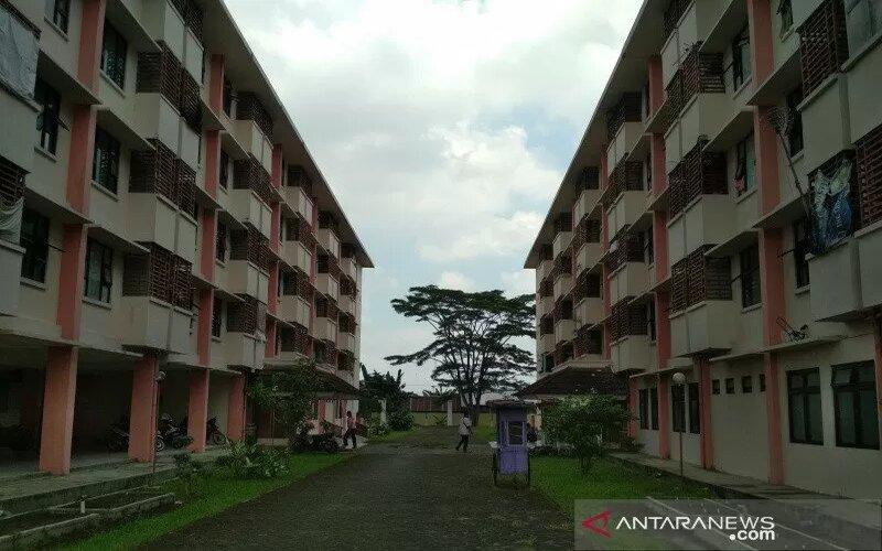 Rusunawa Bakalan Krapyak, Kecamatan Kaliwungu, Kabupaten Kudus, Jawa Tengah. - Antara/Akhmad Nazaruddin Lathif.
