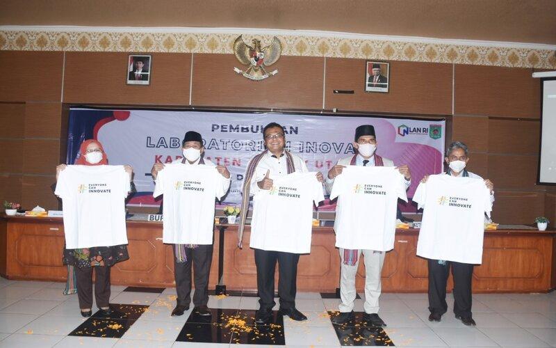 Pembukaan Laboratorium Inovasi (Labinov) Kabupaten Lombok Utara.