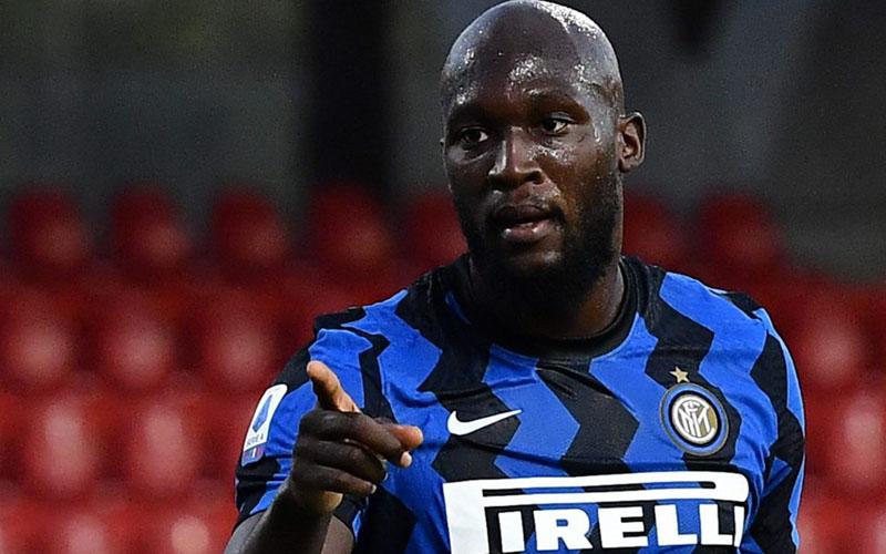 Penyerang Inter Milan Romelu Lukaku. - Sempre Inter