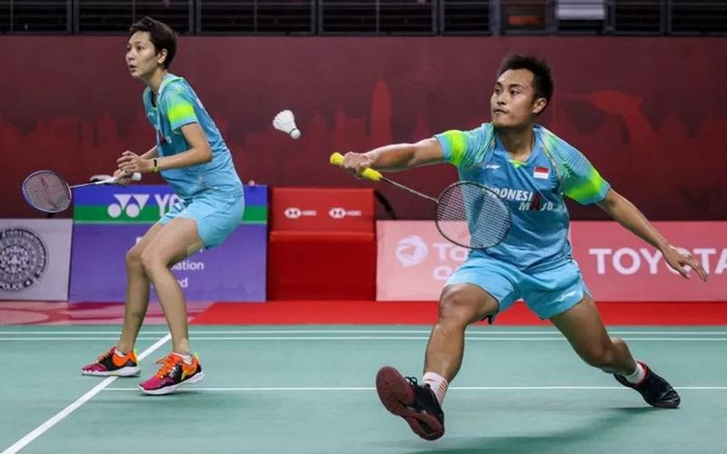 Ganda campuran Indonesia Hafiz Faizal dan Gloria Emanuelle Widjaja. - BWF