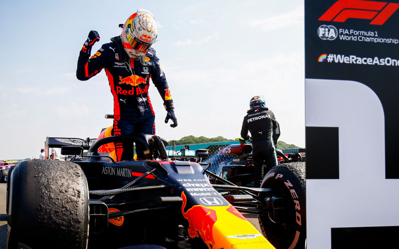 Max Verstappen, pebalap Red Bull Racing-Honda. - Honda