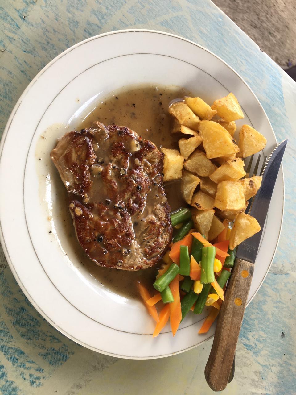 Steak warung politik