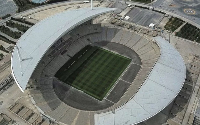 Stadion Olimpiade Ataturk di Istanbul, Turki./Antara - AFP