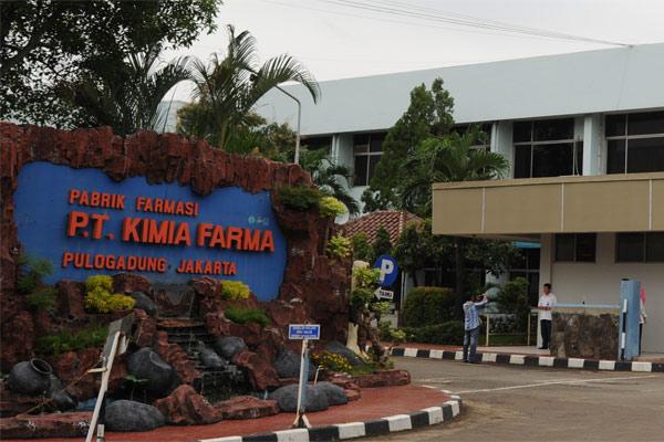 Pabrik Kimia Farma di Pulogadung, Jakarta.  - Kimia Farma