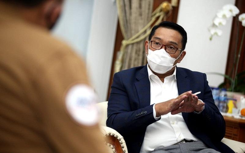 Gubernur Jawa Barat Ridwan Kamil. - Bisnis