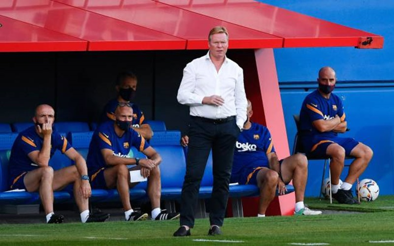 Pelatih Barcelona, Ronald Koeman - AS English