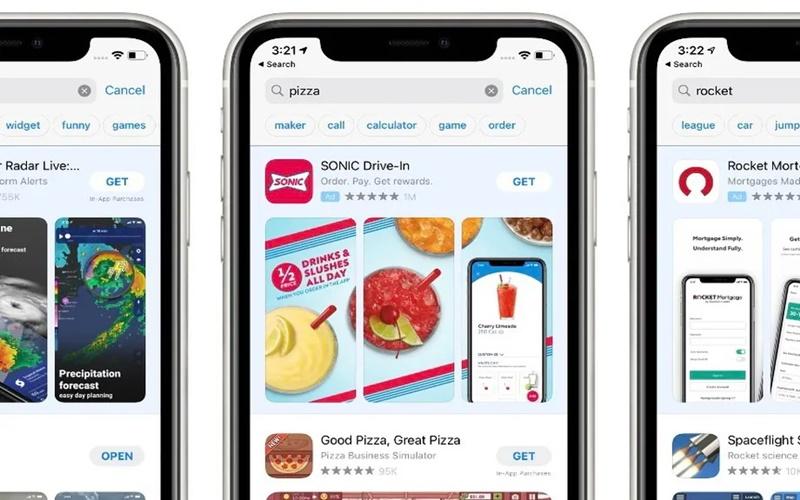 Fitur Saran Kata untuk Pencarian Aplikasi di App Store
