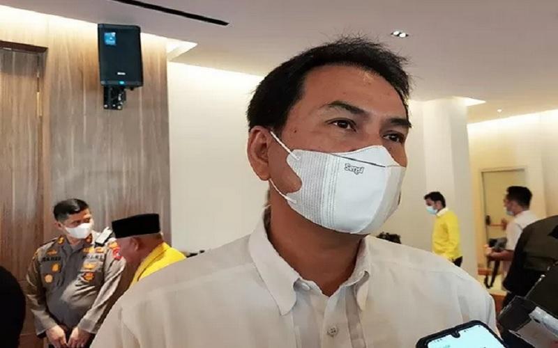 Wakil Ketua DPR RI Azis Syamsuddin. Azis yang juga politikus Partai Golkar dilarang bepergian ke luar negeri untuk enam bulan ke depan sejak 27 April 2021.  - Antara