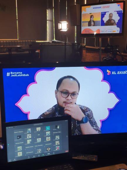Webinar Mudik Sehat dari Rumah, berlangsung pada Jumat (30/4/2021) - dok. JPKM