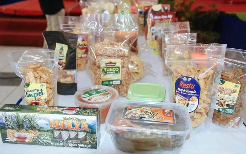 Produk makanan UMKM - Istimewa
