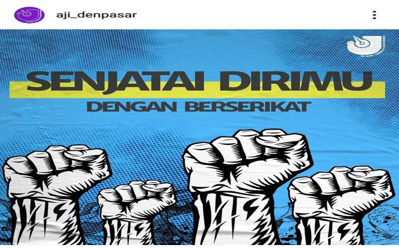 Ilstrasi hari buruh - Aji Denpasar