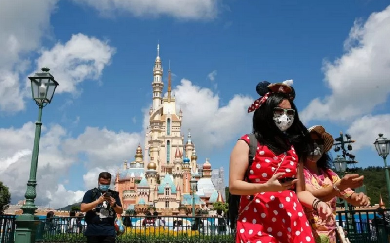 Disneyland. - Antara/Reuters