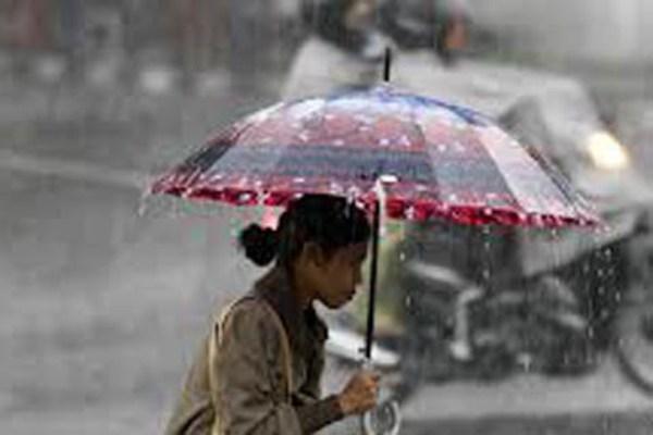 Hujan ringan - ilustrasi