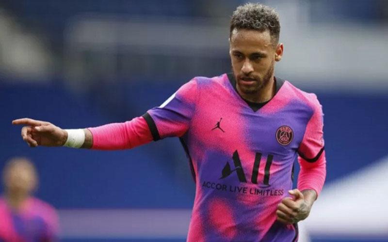 Striker Paris Saint-Germain Neymar da Silva Santos Jr./Antara - Reuters