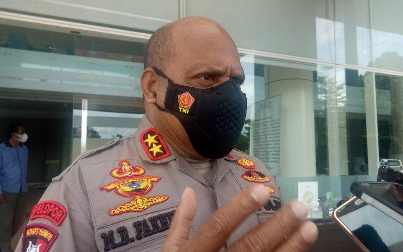 Kapolda Papua Irjen Pol Mathius D Fakhiri - Antara/Evarianus Supar
